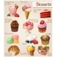 Set of Different Food Icons. Desserts. - GraphicRiver Item for Sale
