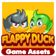 Flappy Duck Game Assets - GraphicRiver Item for Sale