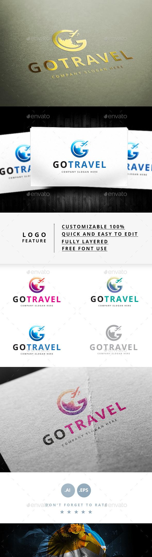 Go Travel V.2 - Logo Templates