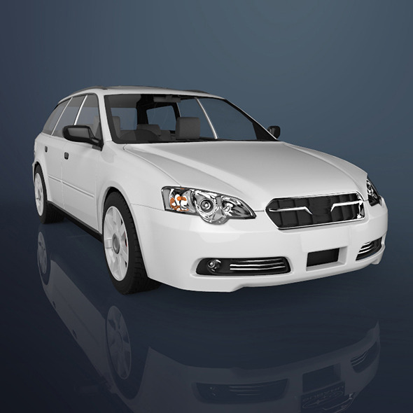 Sedan car - 3DOcean Item for Sale