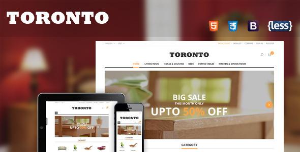 SNS Toronto – Premium Responsive Magento Theme
