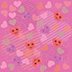 Cute Hearts Pink Pattern - GraphicRiver Item for Sale