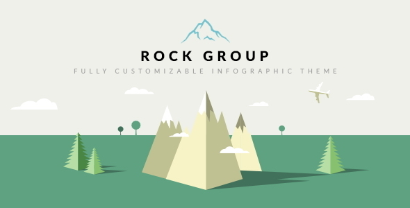 Rock Group | Multipurpose Infographic Theme - Creative Site Templates