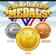 Championship Medals - GraphicRiver Item for Sale
