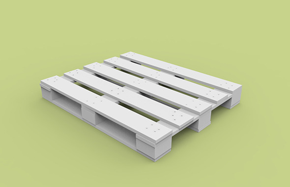 Pallet - 3DOcean Item for Sale