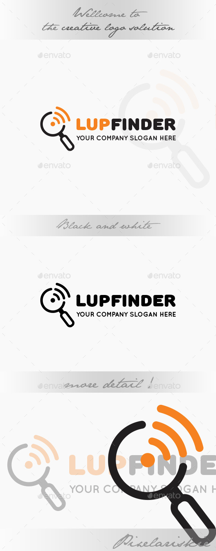 Lup Signal Finder Logo - Symbols Logo Templates