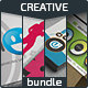 Creative Business Cards Bundle - GraphicRiver Item for Sale