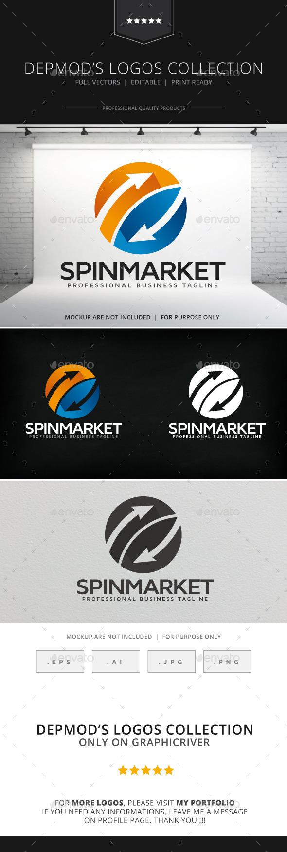 Spin Market Logo - Symbols Logo Templates