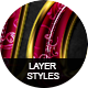 Glossy Layer Styles Vol.2 - GraphicRiver Item for Sale