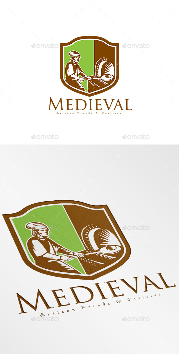 Medieval Artisan Breads Logo - Humans Logo Templates