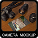 Camera Mock-Up 2 - GraphicRiver Item for Sale