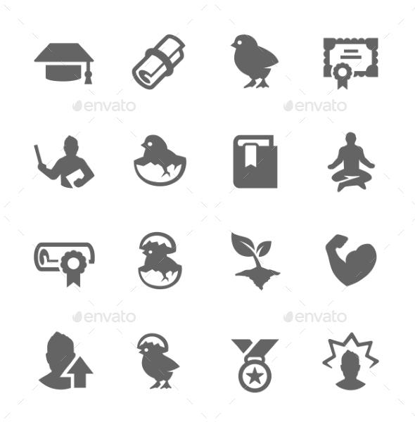 Personal Development Icons - Icons