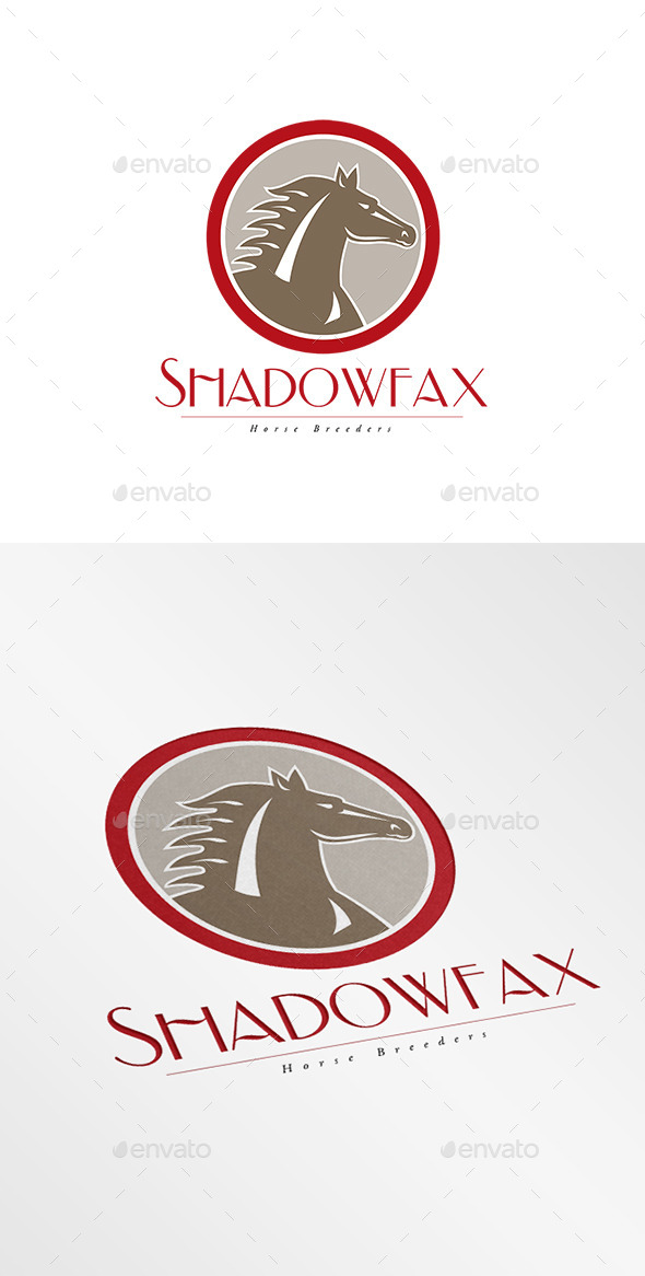 Shadowfax Horse Breeders Logo - Animals Logo Templates