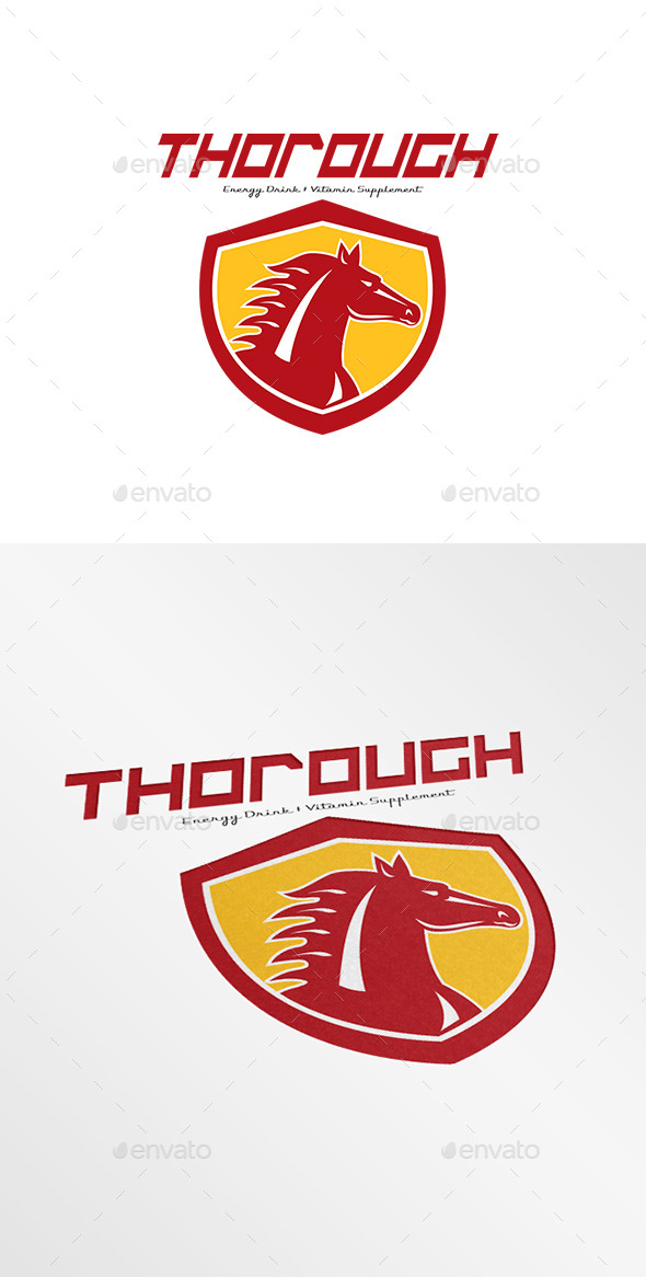 Thorough Energy Drink Logo - Animals Logo Templates