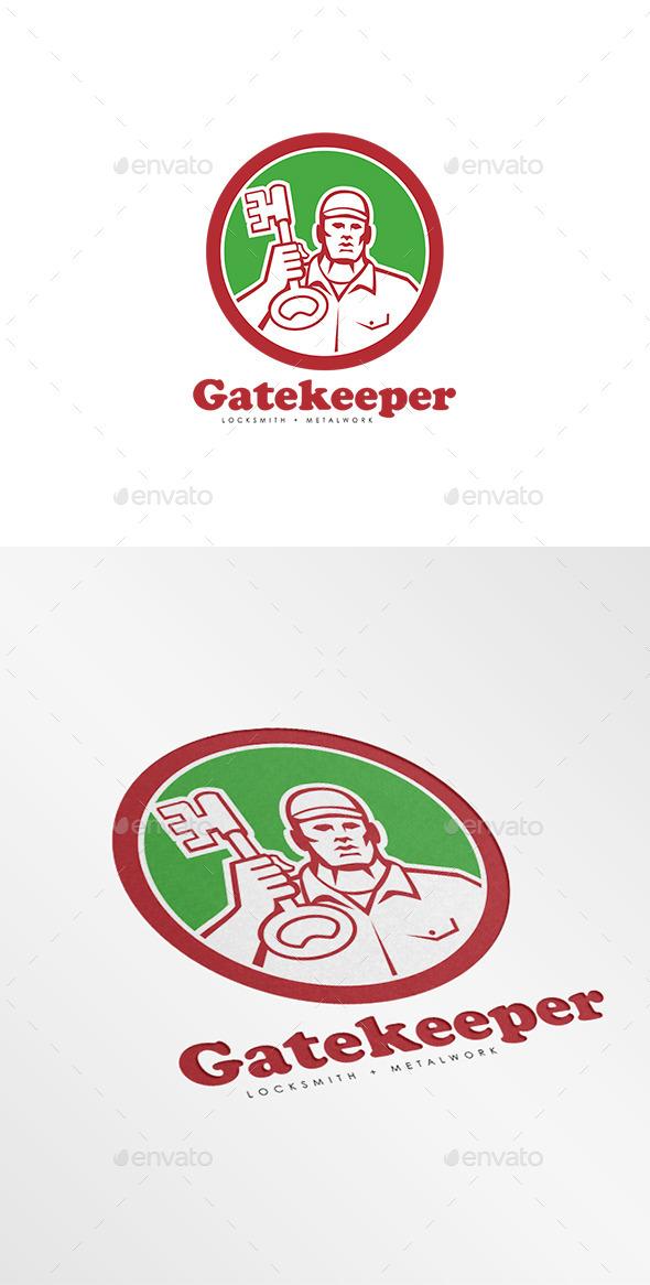 Gatekeeper Locksmiths Logo - Humans Logo Templates