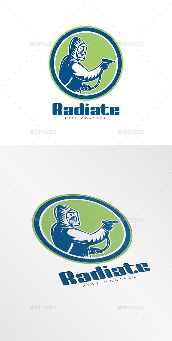 Radiate Pest Control Logo - Humans Logo Templates