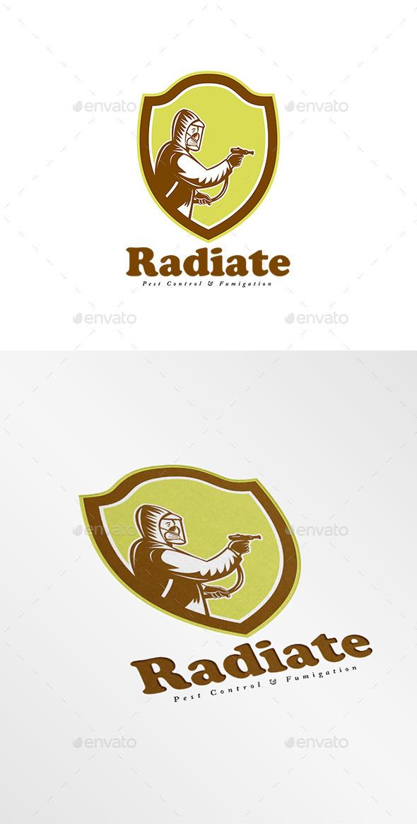 Radiate Fumigation Logo - Humans Logo Templates