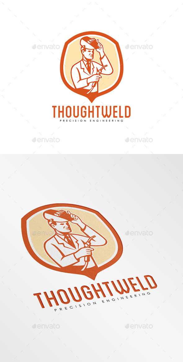 Thoughtweld Precision Engineering Logo - Humans Logo Templates