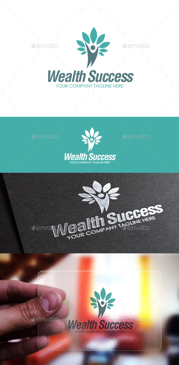 Wealth Success Logo - Humans Logo Templates