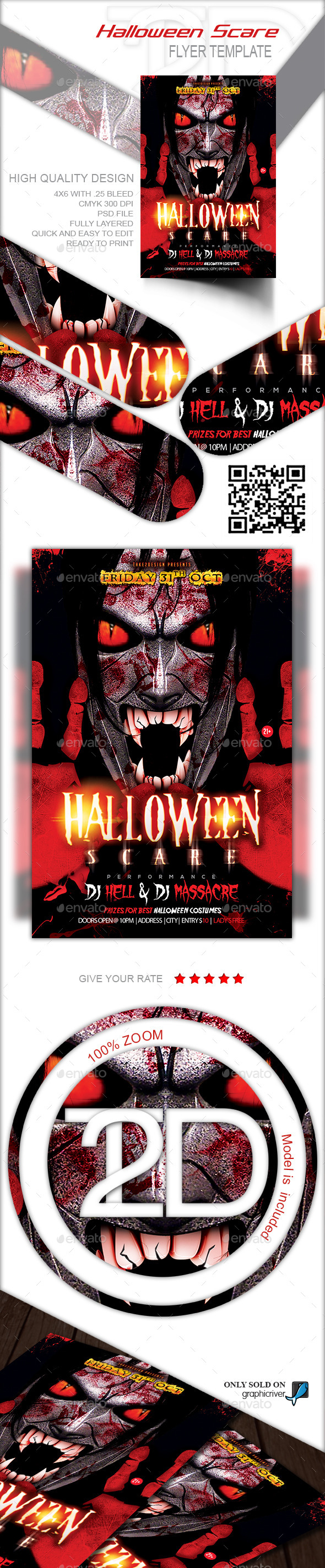 Halloween Scare  - Clubs & Parties Events