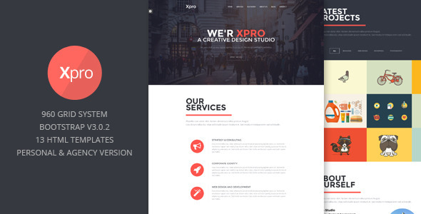 Xpro - Onepage Multipurpose Bootstrap HTML
