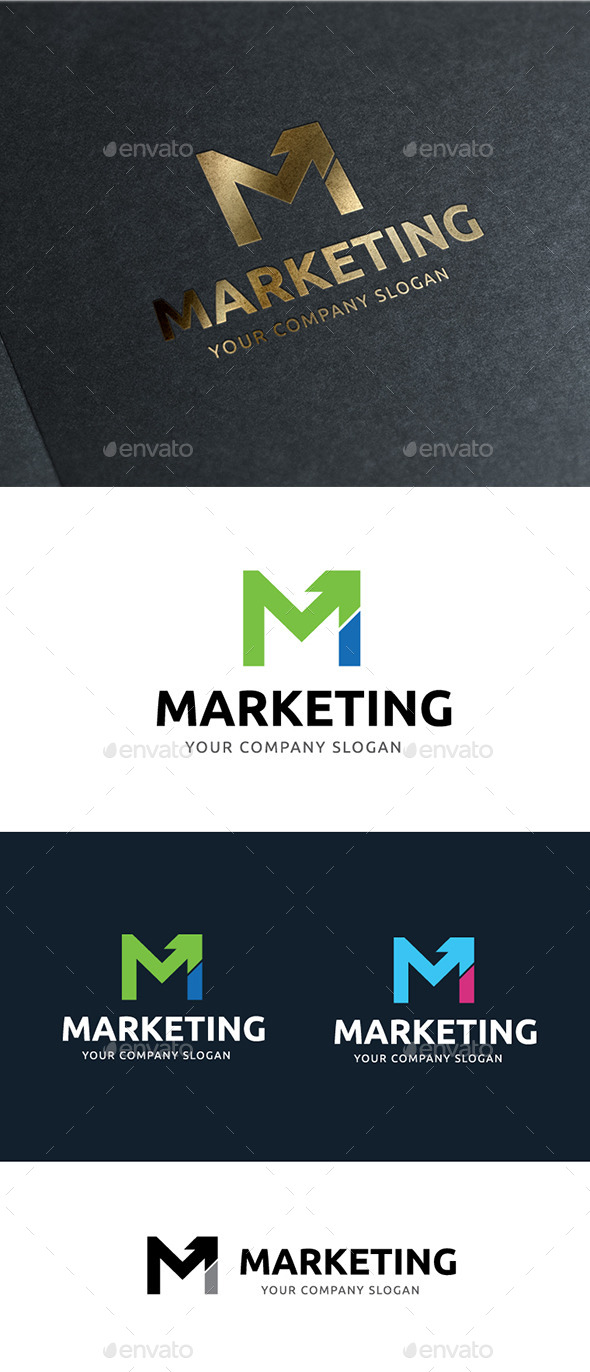 Marketing - Letters Logo Templates