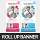 Medical Health Plan Rollup Banner Template