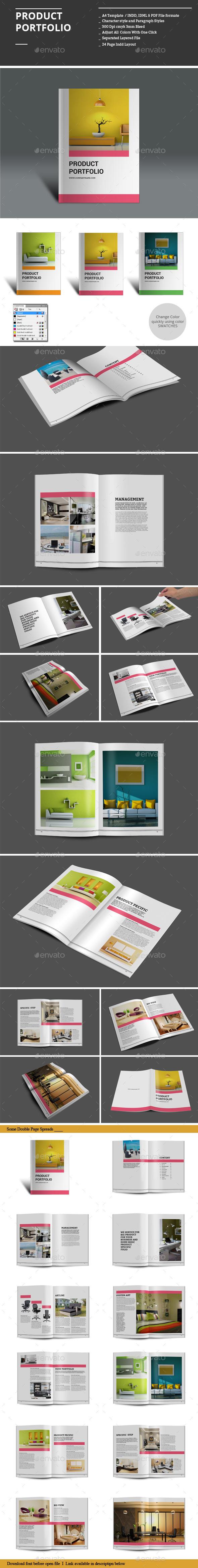 Product Portfolio - Portfolio Brochures