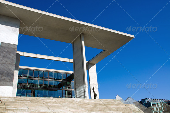 Marie-Elisabeth-Lueders-Haus - Stock Photo - Images