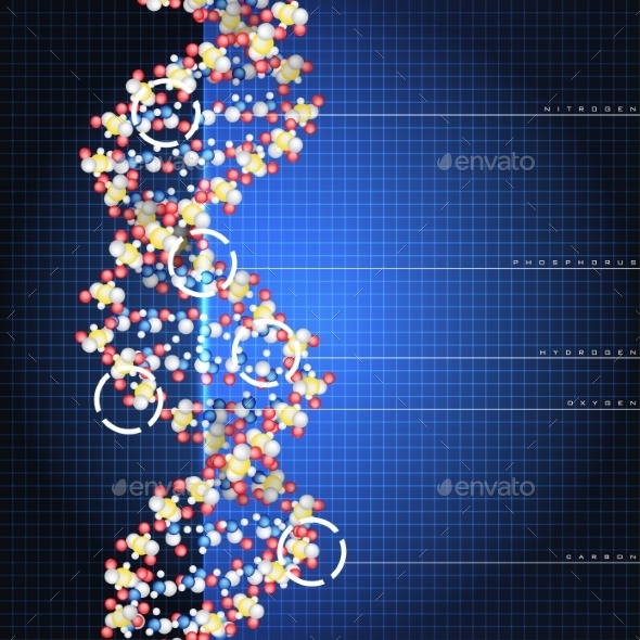 Dna Double Helix - Health/Medicine Conceptual