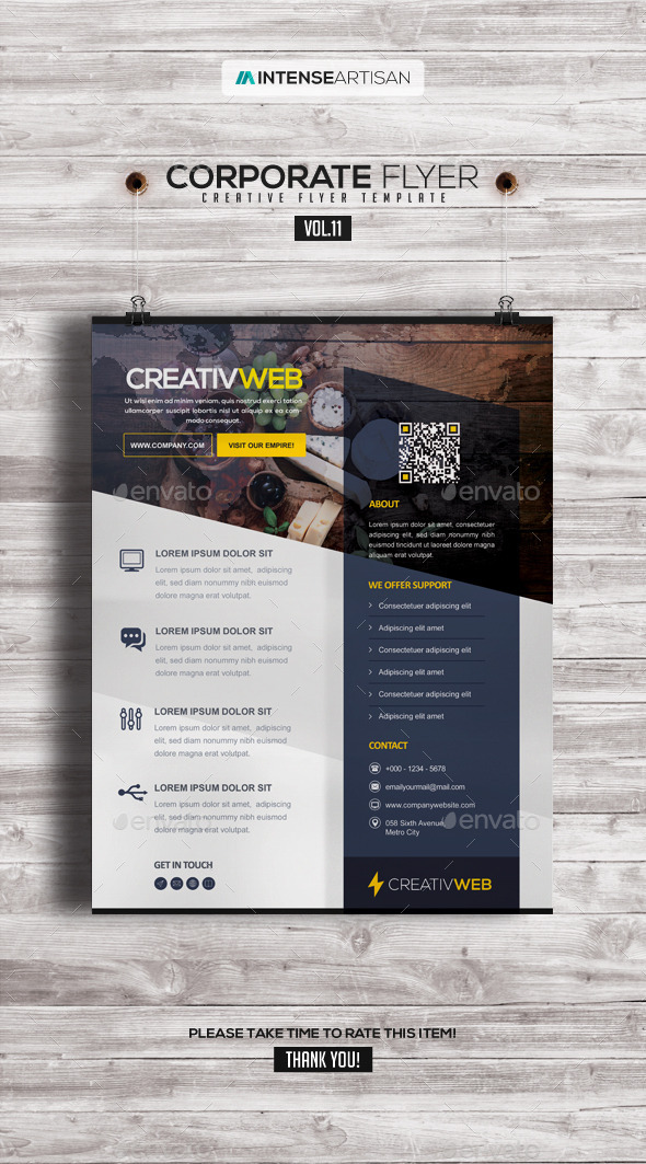 Corporate | Creative Poster | Flyer V.11 - Corporate Flyers