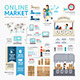 Ecommerce Business Market Online Template Design - GraphicRiver Item for Sale