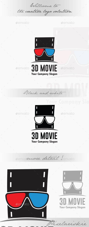 3D Movie Logo - Symbols Logo Templates