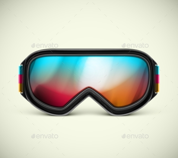 Ski Goggles - Sports/Activity Conceptual