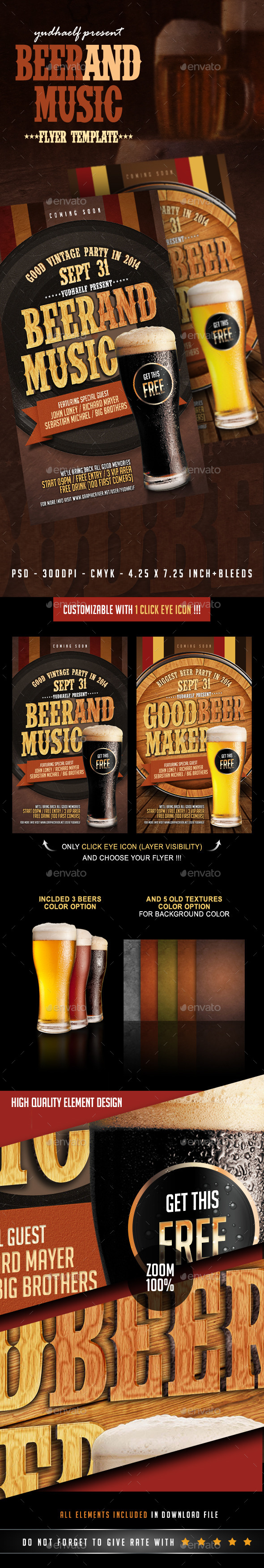 Beer And Music - Clubs & Parties Events