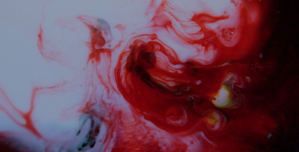Milk, Food Dye, And Soap 2 by spafron | VideoHive