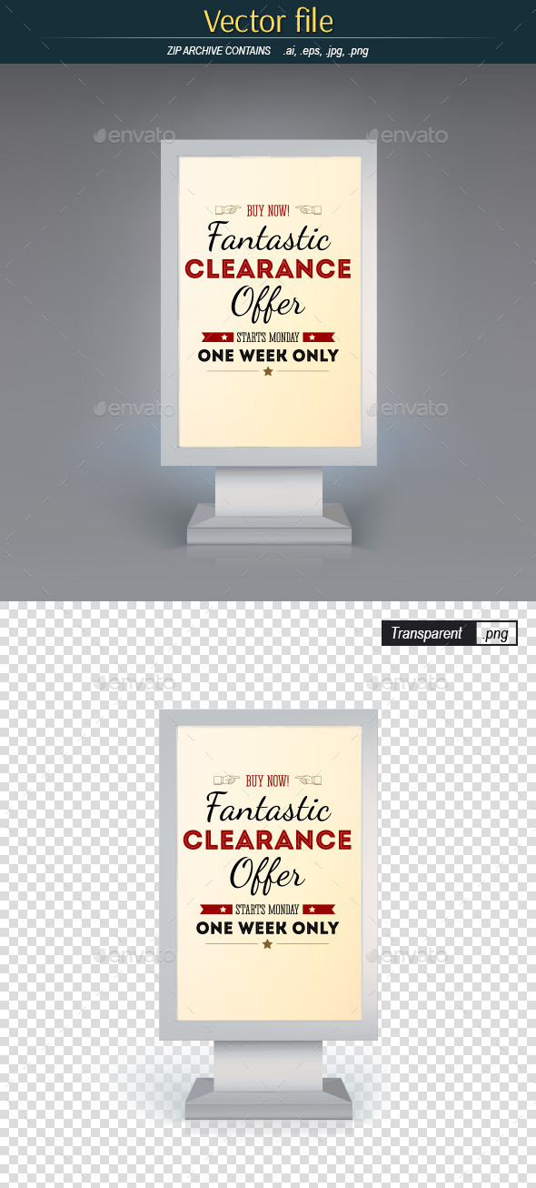 Digital Signage - Commercial / Shopping Conceptual