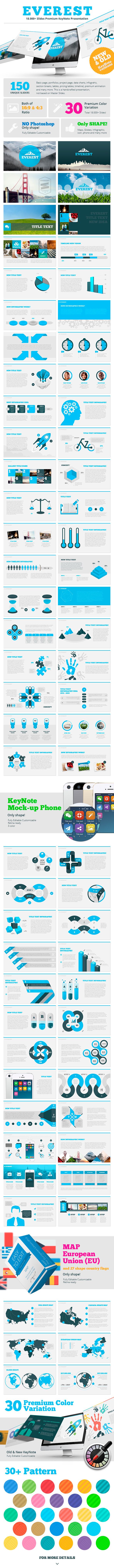 Everest KeyNote - Keynote Templates Presentation Templates