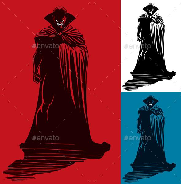 Vampire - Monsters Characters