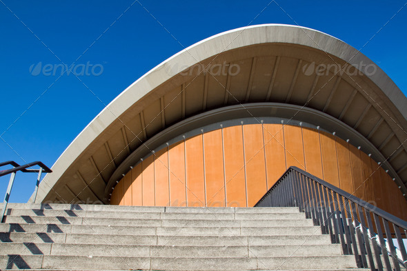 Congress hall in Berlin - Stock Photo - Images
