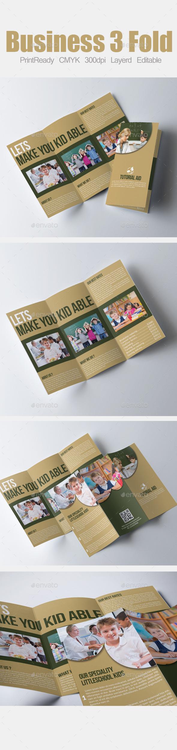 Tri Fold Education Brochure - Corporate Brochures