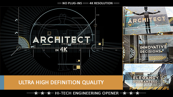 Architect construction opener titles by cyzer videohive play preview video malvernweather Image collections