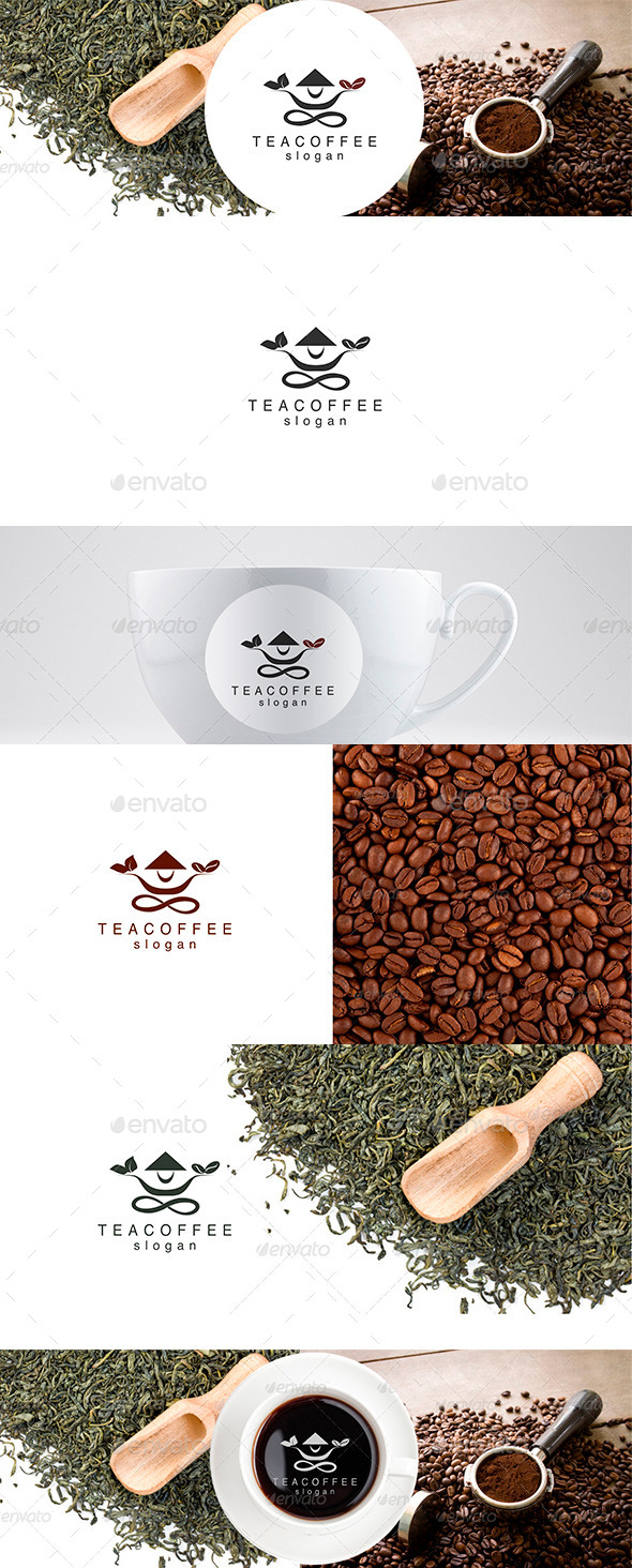 Tea and Coffee Logo Template - Food Logo Templates