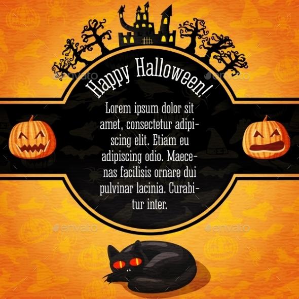 Happy Halloween Card - Halloween Seasons/Holidays