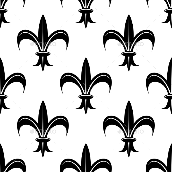 Fleur De Lis Pattern By VectorTradition