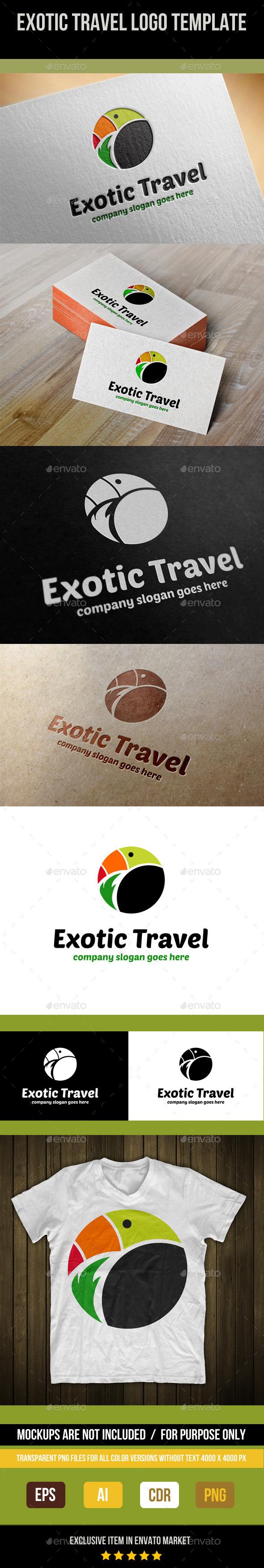 Exotic Travel Logo Template - Abstract Logo Templates