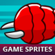 Flying Enemy Game Sprites #2 - GraphicRiver Item for Sale