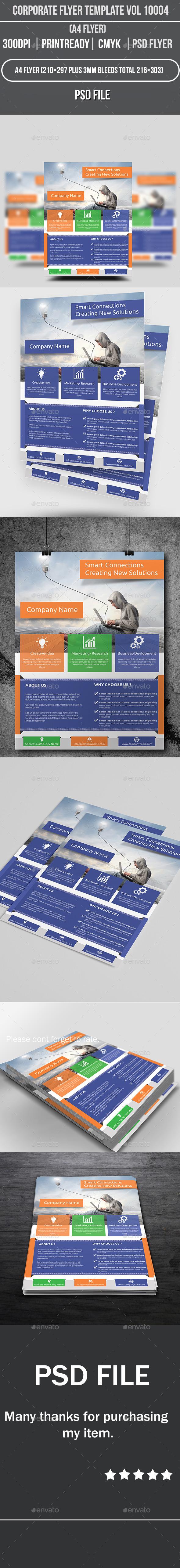 Corporate Flyer Template Vol 10004 - Corporate Flyers