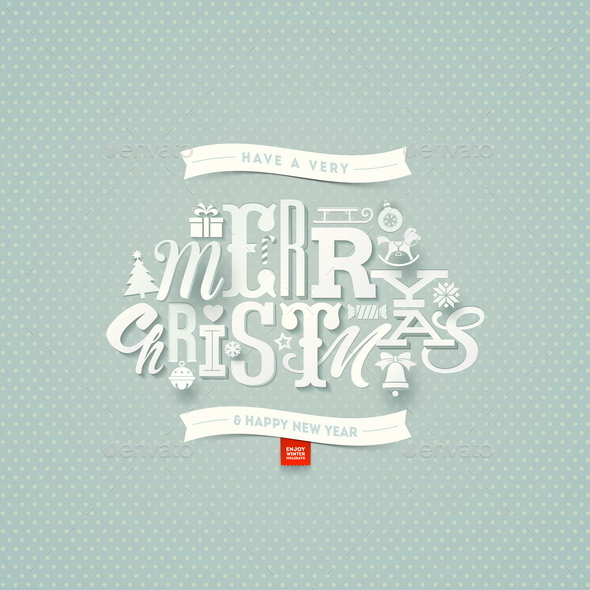 Christmas Type Design - Christmas Seasons/Holidays