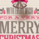 Christmas Type Design and Holidays Decoration